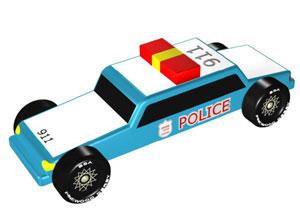 Pinewood Police Car